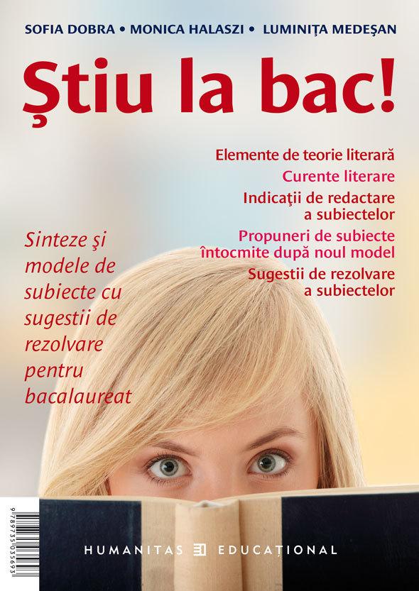 STIU LA BAC! ROMANA