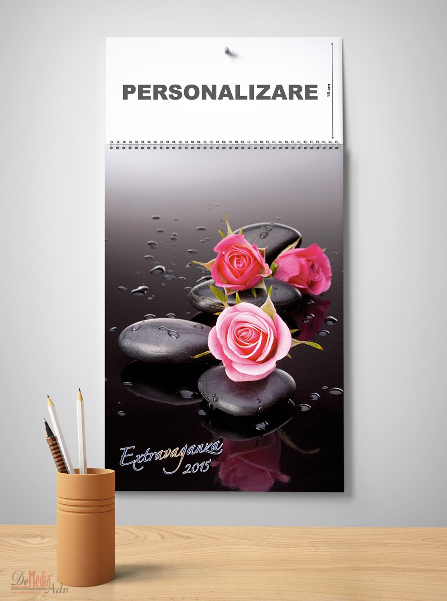 Calendar perete 32x48cm,Extravaganza2015