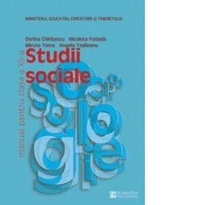 STUDII SOCIALE. MANUAL. CLASA A XII-A