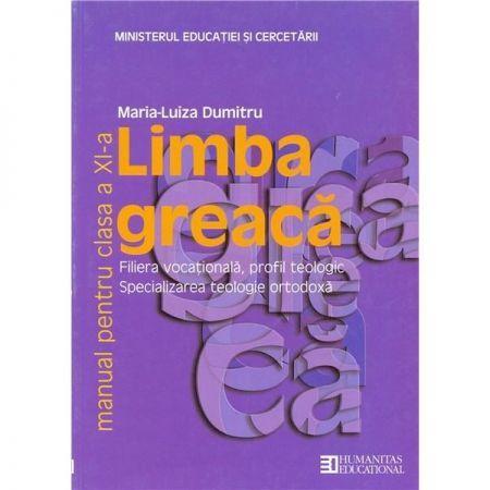 LIMBA GREACA CLS A XI-A. MANUAL