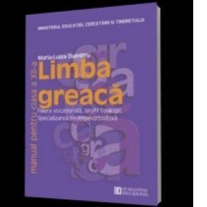 LIMBA GREACA CLS A XII-A. MANUAL