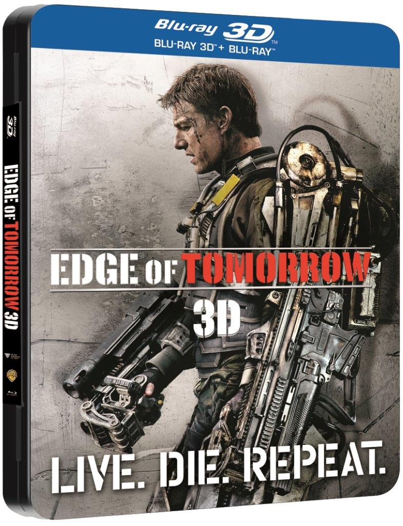 BD: EDGE OF TOMORROW 3D Steelbook