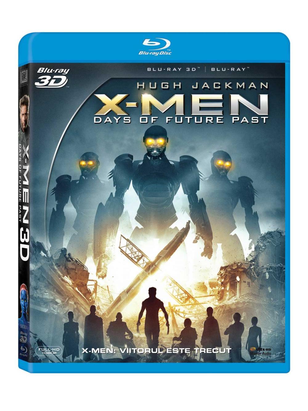 BD: X-MEN: DAYS OF FUTURE PAST - X-MEN: VIITORUL ESTE TRECUT