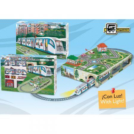 Tramvai Metropolitan City,tunel,accesorii