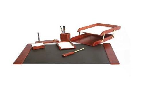 Set birou 7 piese,mapa 66x42cm,bordo
