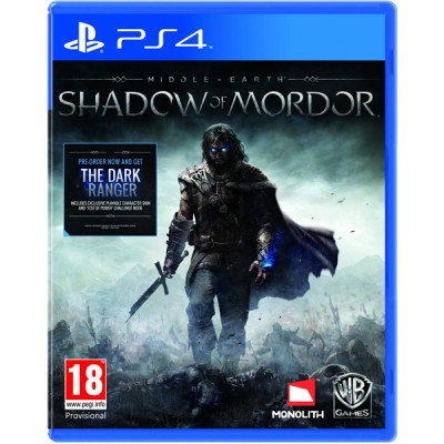 MIDDLE EARTH SHADOW OF MORDOR - PS4
