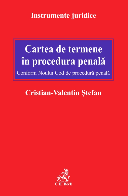 CARTEA DE TERMENE IN PROCEDURA PENALA CONFORM NCPP