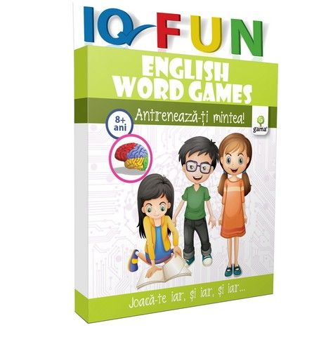 ENGLISH WORDS GAMES/ IQ FUN