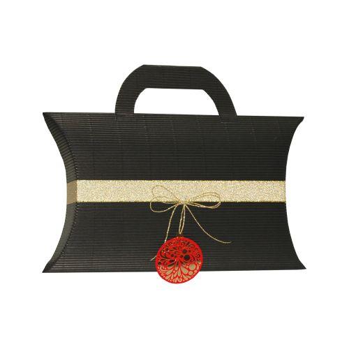 Pernita medie maner negru ornament