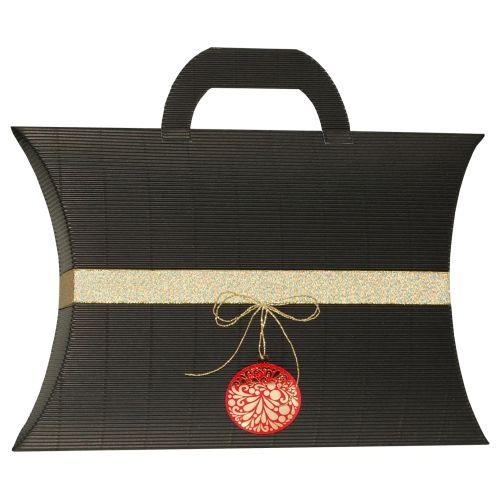 Pernita mare maner negru ornament