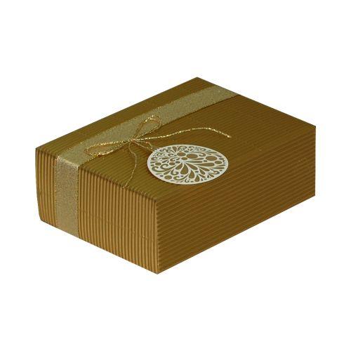 Cutie cadou PRESTIGE M17 auriu ornament