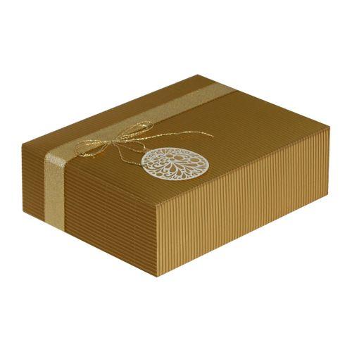 Cutie cadou Prestige M23 auriu ornament