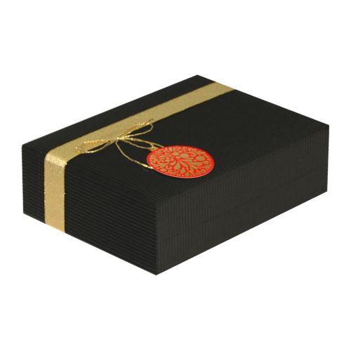 Cutie cadou Prestige M23 negru ornament