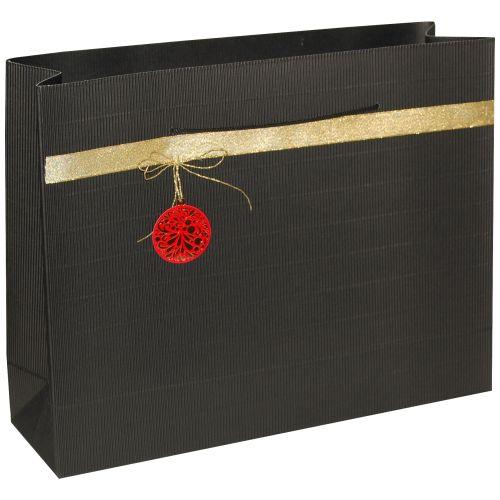 Punga cadou XXL negru ornament