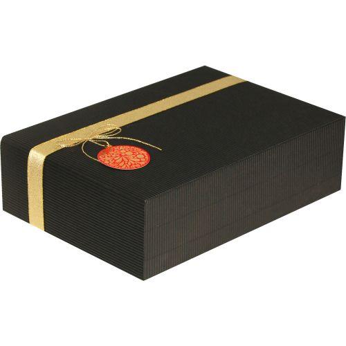 Cutie cadou Prestige M35 negru ornament