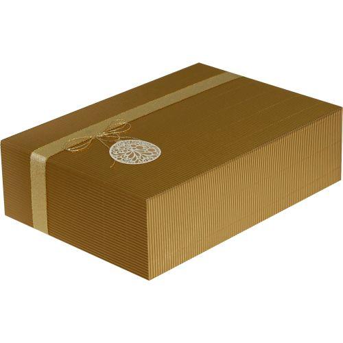 Cutie cadou Prestige M35 auriu ornament