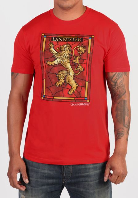 Game of Thrones T-Shirt Stained Glass Lannister Size L
