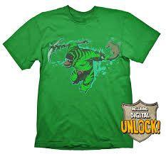 DOTA 2 T-Shirt Tide Hunter + Ingame Code Size XL