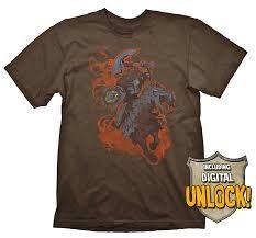 DOTA 2 T-Shirt Chaos Knight + Ingame Code Size L