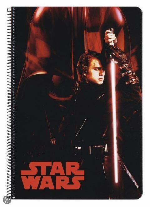 Caiet spira A5,80file,Star Wars