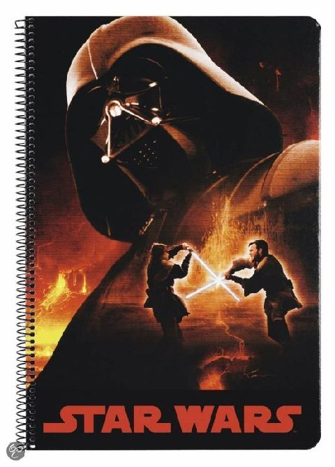 Caiet spira A4,80file,Star Wars