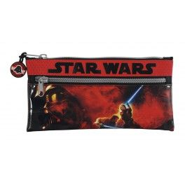 Pouch 2 fermoare 22x11cm,Star Wars