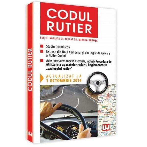 CODUL RUTIER. ACT 1 OCT 2014