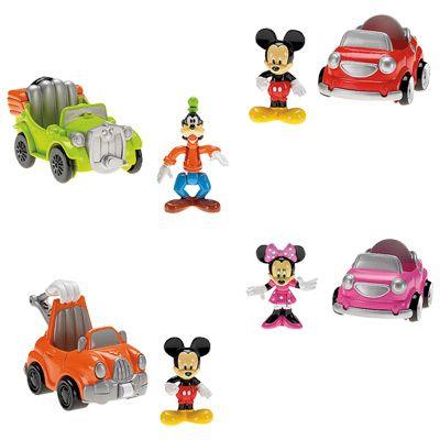 Figurina cu autovehicul,mickey clubhouse