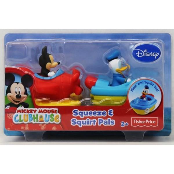 Vehicule baie cu figurine Mickey/Donald