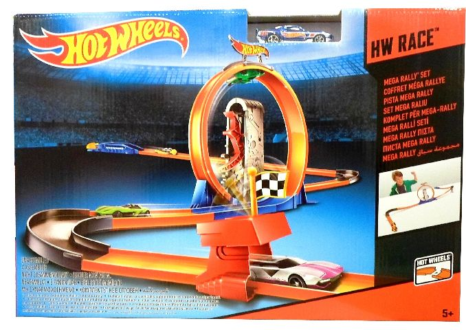 Pista de construit 3 in 1,Hot Wheels