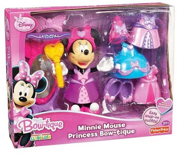 Figurina Minnie cu imbracaminte,oglinda