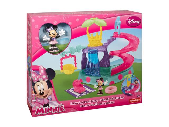 Figurina cu accesorii piscina,Minnie