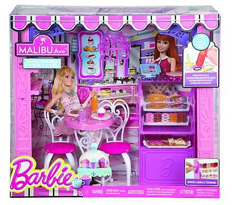 Magazin brutarie Malibu,Barbie