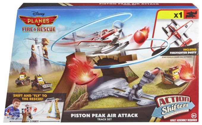 Pista Planes Action Shifters+avion