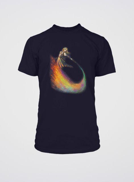 League of Legends Lux Paintbrush T-Shirt XL