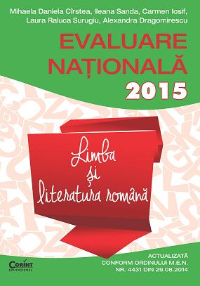 EVALUAREA NATIONALA 2015 LB SI LIT ROMANA - CIRSTEA