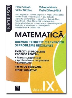 MATEMATICA BREVIAR CL 9