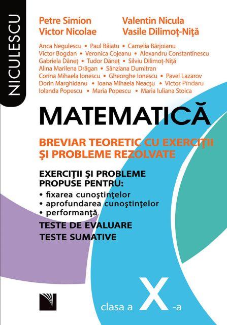MATEMATICA BREVIAR CL 10