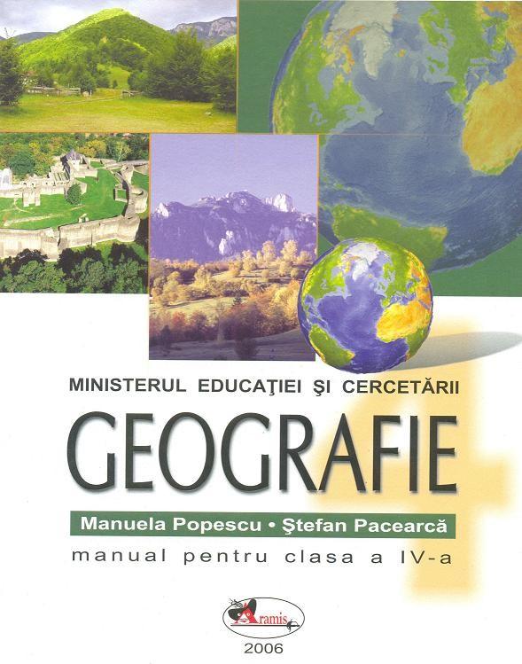 GEOGRAFIE IV. MANUAL PA CEARCA