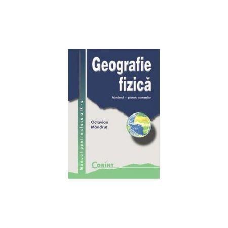 MANUAL CLS. A IX-A - GEOGRAFIE