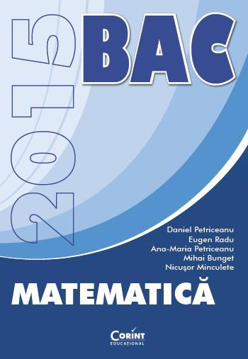 BAC 2015 MATEMATICA