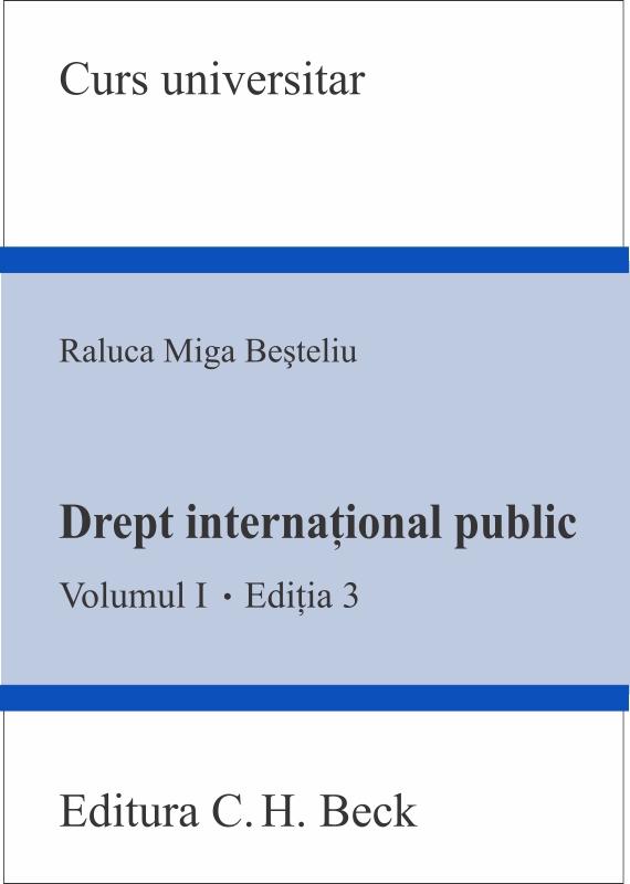 DREPT INTERNATIONAL PUBLIC, VOL 1. ED 3