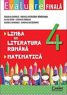 EVALUARE FINALA CLS 4 ROMANA...