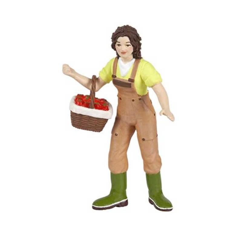 Figurina Papo,fermier cu cos