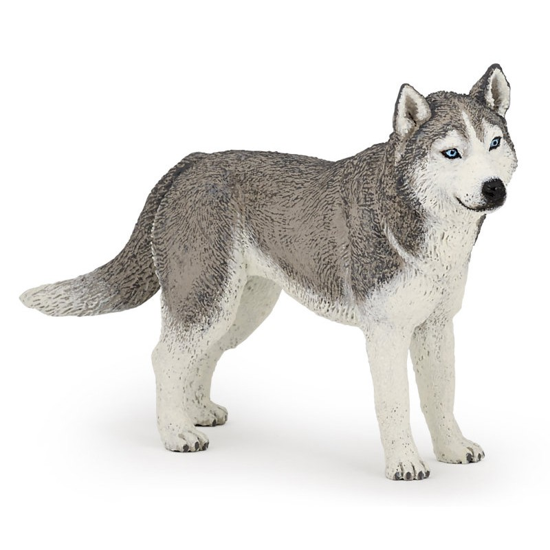 Figurina Papo,caine husky siberian