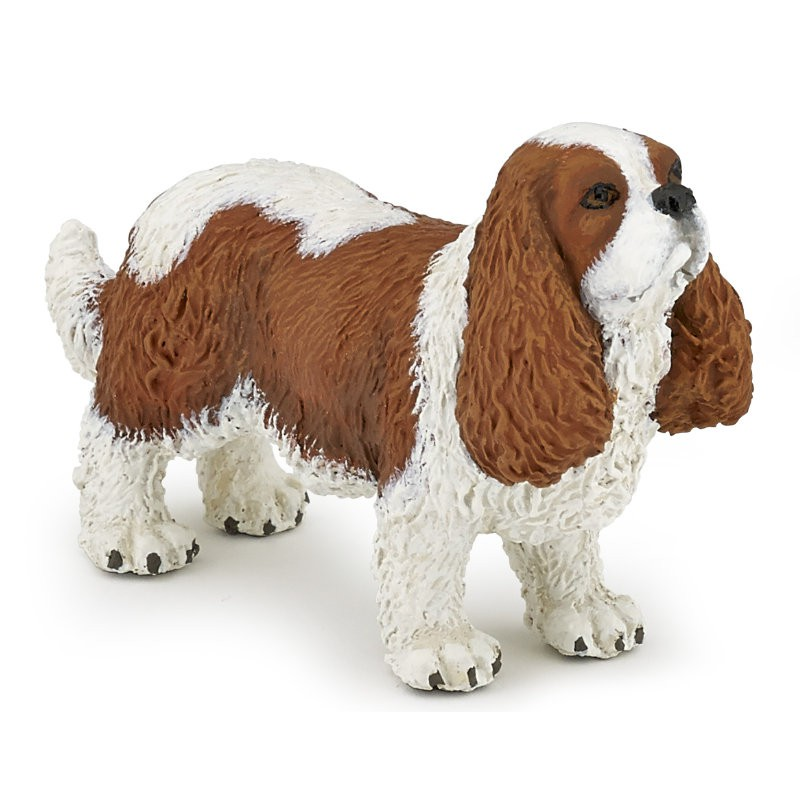 Figurina Papo,caine cavalier king Charles