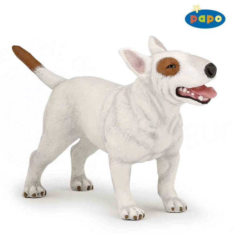 Figurina Papo,caine Bull Terrier