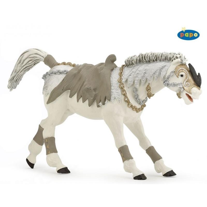 Figurina Papo,calul calaretului fantoma