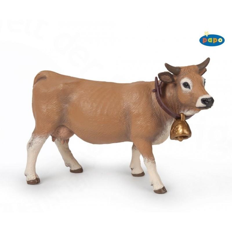 Figurina Papo,vaca Allgau