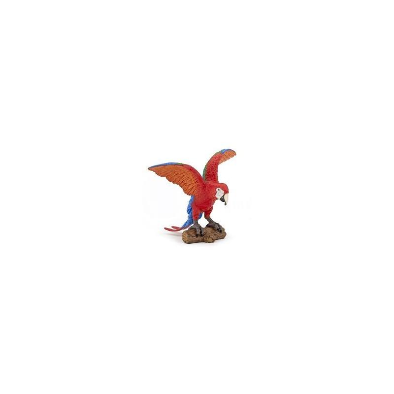 Figurina Papo,papagal Ara